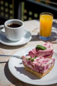 Breakfast options available to guests at Thalassa Apart Hotel