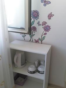 Kylpyhuone majoituspaikassa Rooms Katica