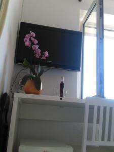 TV tai viihdekeskus majoituspaikassa Rooms Katica