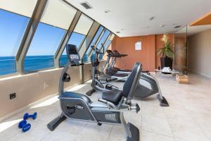 Het fitnesscentrum en/of fitnessfaciliteiten van Sol Costa Atlantis Tenerife