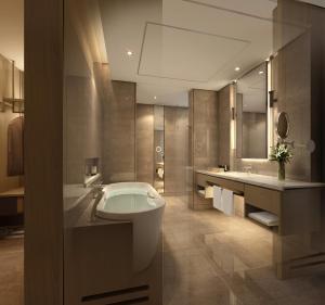 A bathroom at Sofitel Kuala Lumpur Damansara
