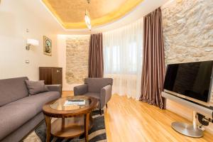A seating area at Villas Arbia - Margita Deluxe