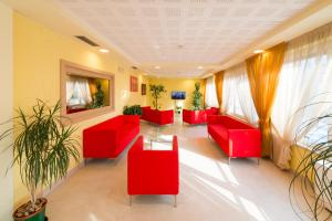 The lobby or reception area at Nature Bio Hotel Elite