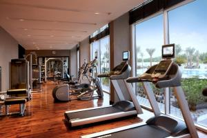The fitness center and/or fitness facilities at Centro Sharjah - by Rotana