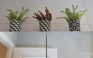 A bathroom at Athens Wooden Studio