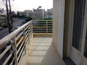 A balcony or terrace at Pasiphae Heraklion Hotel
