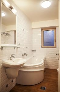 A bathroom at Castello Boutique Hotel