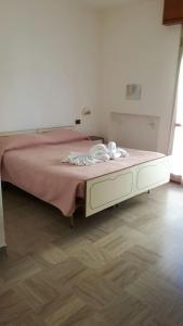 Letto o letti in una camera di Hotel Villa Podgora
