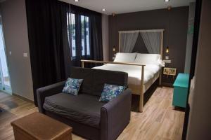 Cama o camas de una habitación en Kasa Kata