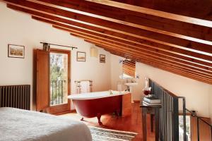 Un baño de Hotel Mas de la Serra