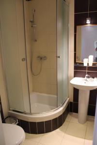 Kúpeľňa v ubytovaní Chatisko