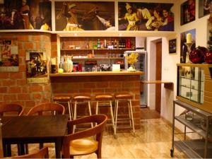 Lounge alebo bar v ubytovaní Chatisko