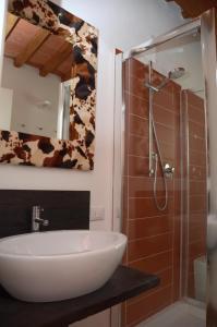 A bathroom at Podere Delle Fanciulle