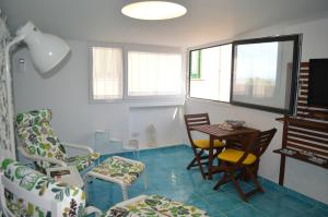 A seating area at Casa Marielva