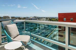 A balcony or terrace at Hampton Inn & Suites Santa Monica