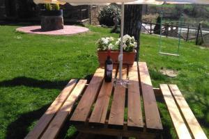 Jardín al aire libre en Casa Molinero