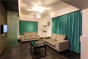 A seating area at Hotel Rasika