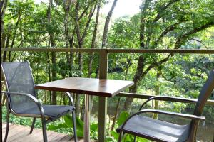 A balcony or terrace at Daintree Valley Haven