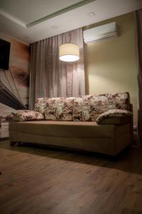 Гостиная зона в Апартаменты на Лесной