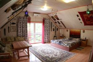 Кровать или кровати в номере Бутик отель Баден-Баден