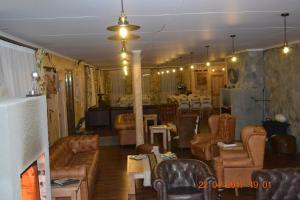 O lounge ou bar de Hotel Estancia El Ovejero Patagónico