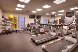 The fitness center and/or fitness facilities at SpringHill Suites Thatcher