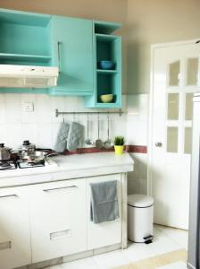 A kitchen or kitchenette at Century Bay Private Residences
