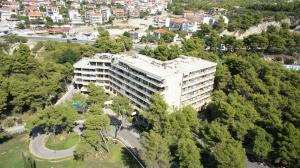 A bird's-eye view of The Residence Hotel