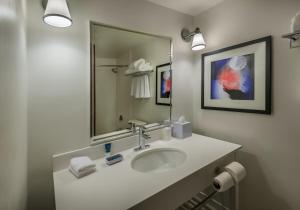 A bathroom at Four Points by Sheraton Juneau