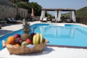 The swimming pool at or near Paxos Santa Marina Villas