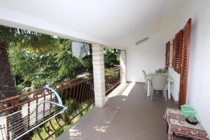 Balkón alebo terasa v ubytovaní Apartment Stipe