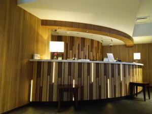 Area lobi atau resepsionis di Fujinomiya Fujikyu Hotel