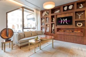 אזור ישיבה ב-Mercure Hotel Raphael Wien