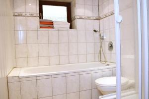 Ein Badezimmer in der Unterkunft Ferienwohnung Odenkirchen