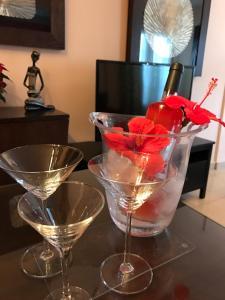 Drinks at Evita Beach Apartamentos