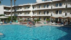 The swimming pool at or near Astron Hotel