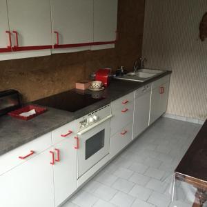 A kitchen or kitchenette at Baie de Somme Villa gros Becs