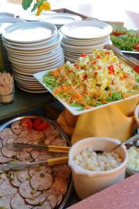 Nourriture dans le village vacances ou à proximité