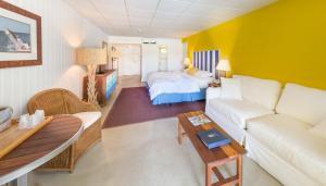 Coin salon dans l'établissement Bimini Big Game Club Resort & Marina