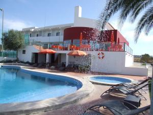 A piscina em ou perto de Casa Do Vale Hotel