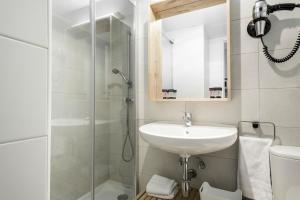 A bathroom at Residencia Universitaria Campus del Mar