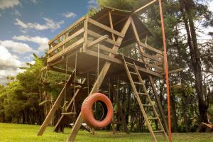 Children's play area at Hotel Moradas do Penedo