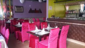 A restaurant or other place to eat at Zambezi Inn Hotel