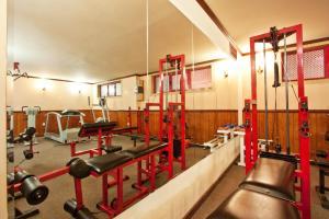 Het fitnesscentrum en/of fitnessfaciliteiten van Saint George Hotel & Medical Spa