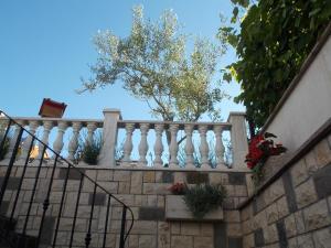 A balcony or terrace at Apartments Karmen