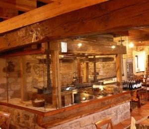 The lounge or bar area at Posada Molino La Vega
