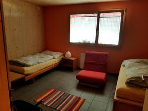Гостиная зона в Ferienhaus Fuhr