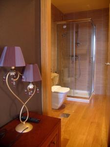 A bathroom at Hotel Casa de Caldelas