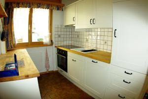 Küche/Küchenzeile in der Unterkunft Ferienwohnung in Davos