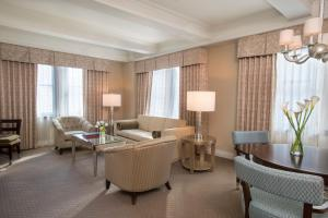 A seating area at Warwick New York